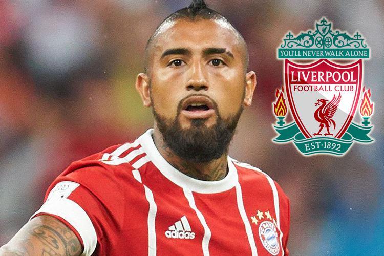 Liverpool want Arturo Vidal after Naby Keita blow as Jurgen Klopp