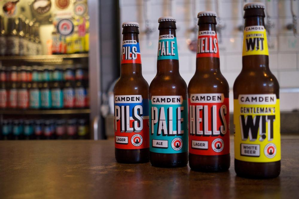 medium resolution of craft beer camden town brewery is actually made by the firm behind corona and budweiser
