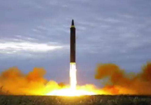 North Korea state media celebrates its missile capability