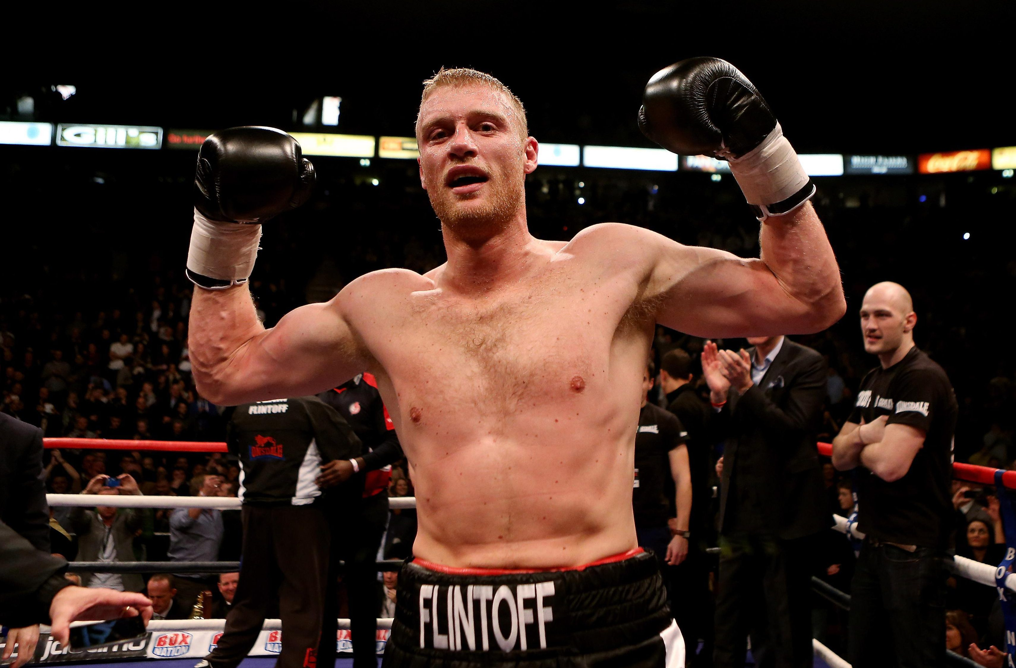 Andrew Flintoff made his name as a cricketer but later tried his luck in the boxing ring