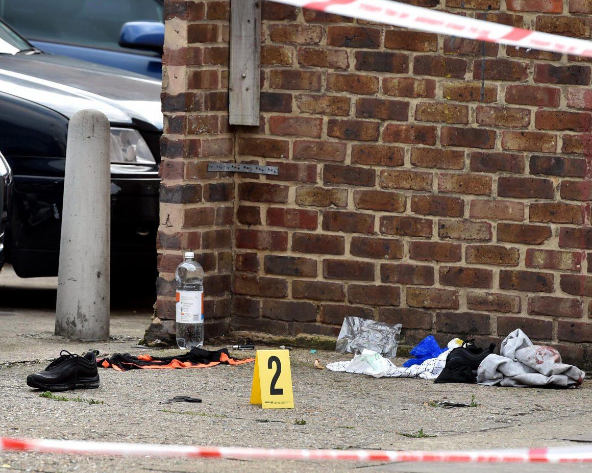 CJ Davis was shot here in 2017, the culmination of a violent gang war