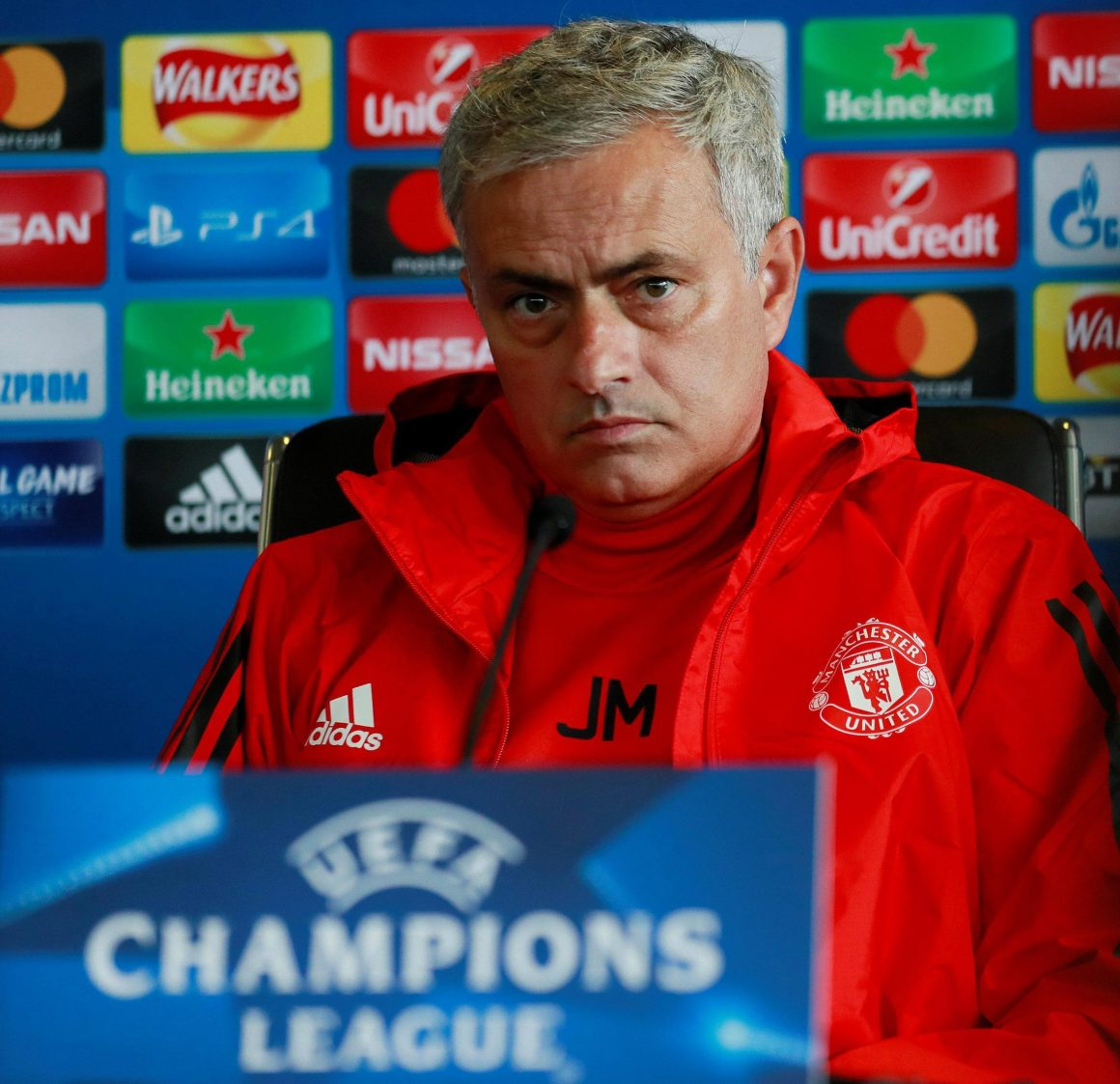 Manchester United manager Jose Mourinho admits his side have fallen behind Champions  League heavyweights