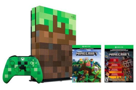 The gamers were hoping to grab a bargain special edition Mincraft Xbox One