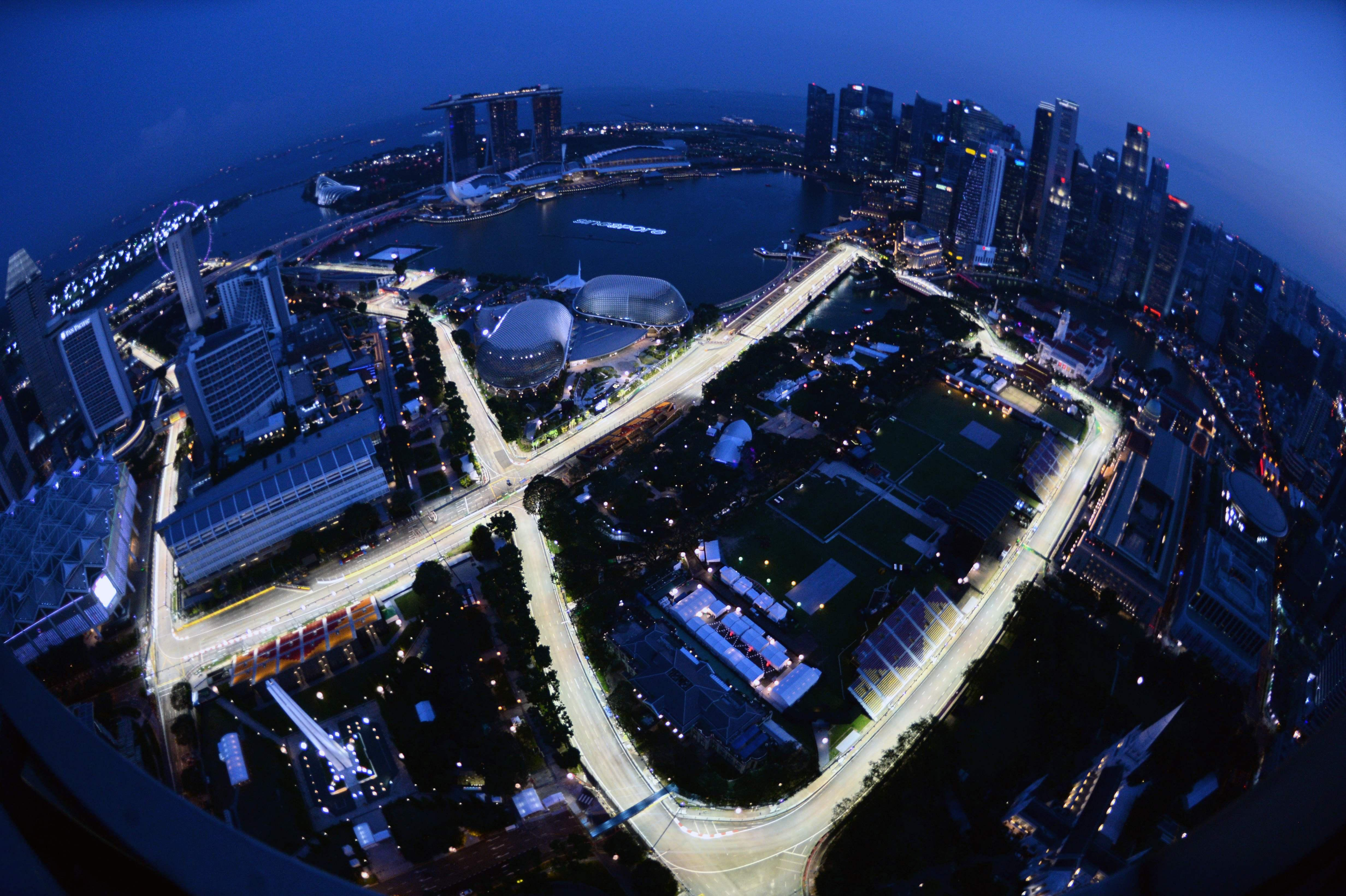 The Singapore Grand Prix is Formula One's first ever night race