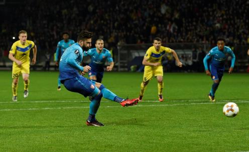 Image result for walcott goal borisov