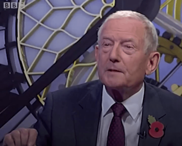 Sheerman was accused of calling people who voted Leave stupid