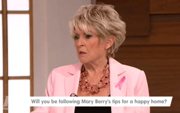 Gloria Hunniford isn't impressed with all the Mary Berry tip books