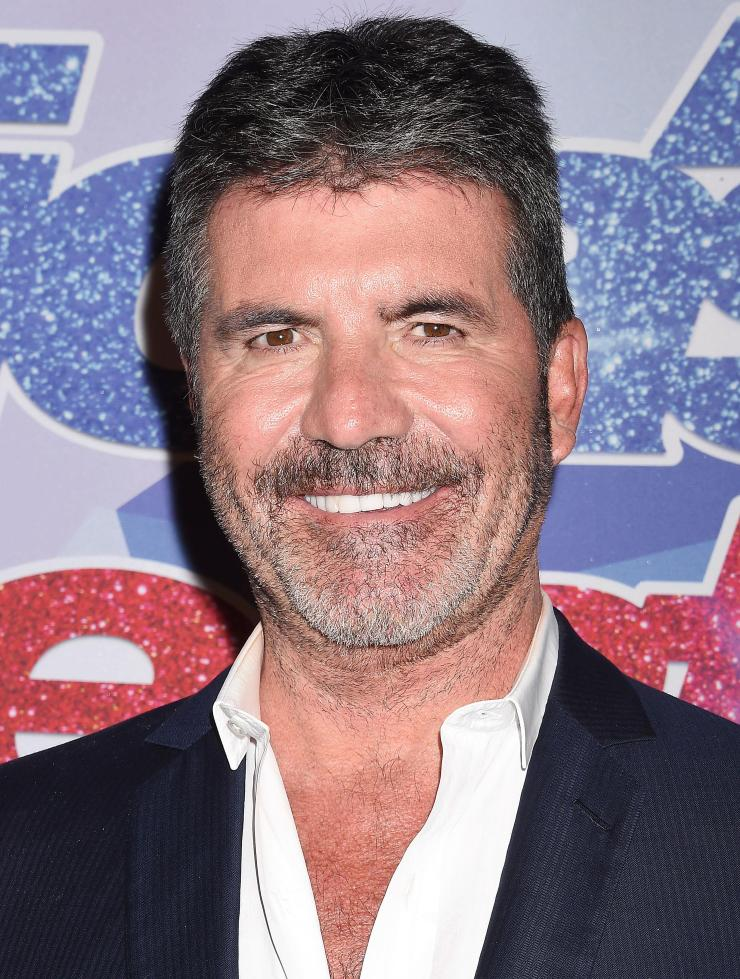 Simon is appearing on The X Factor on Sunday instead due to his hospital trip on Friday