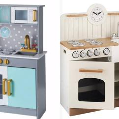 Wood Kitchen Playsets Cabinet Feet Asda Is Selling A 40 Wooden Toy Set That Just Like John Lewis 93 One
