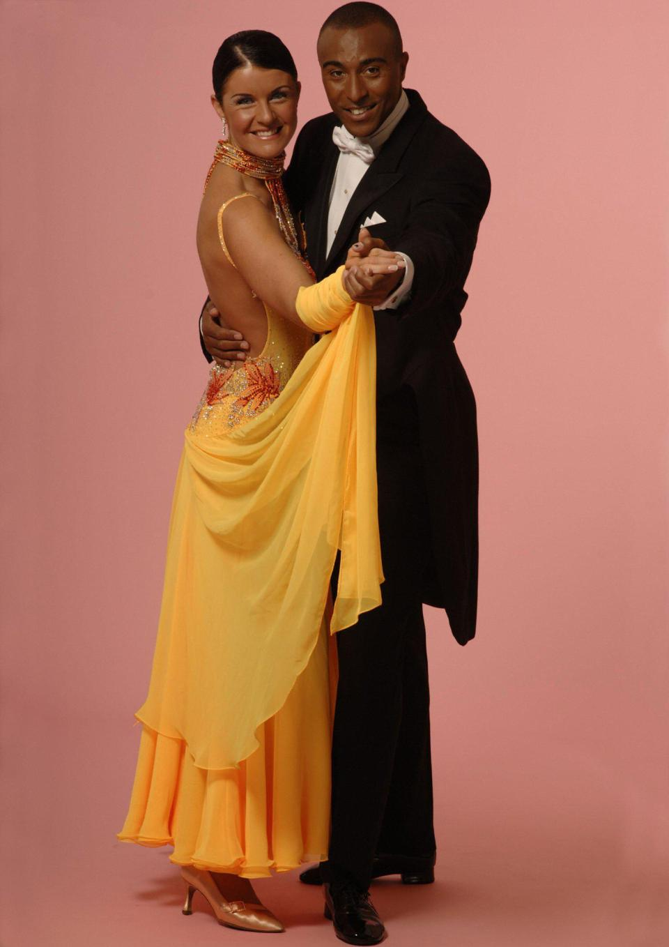 Colin Jackson was runner-up in the third series of Strictly Come Dancing