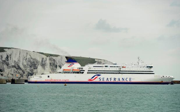 Weapons were discovered after ferry docked with up to 2,000 passengers in Dover