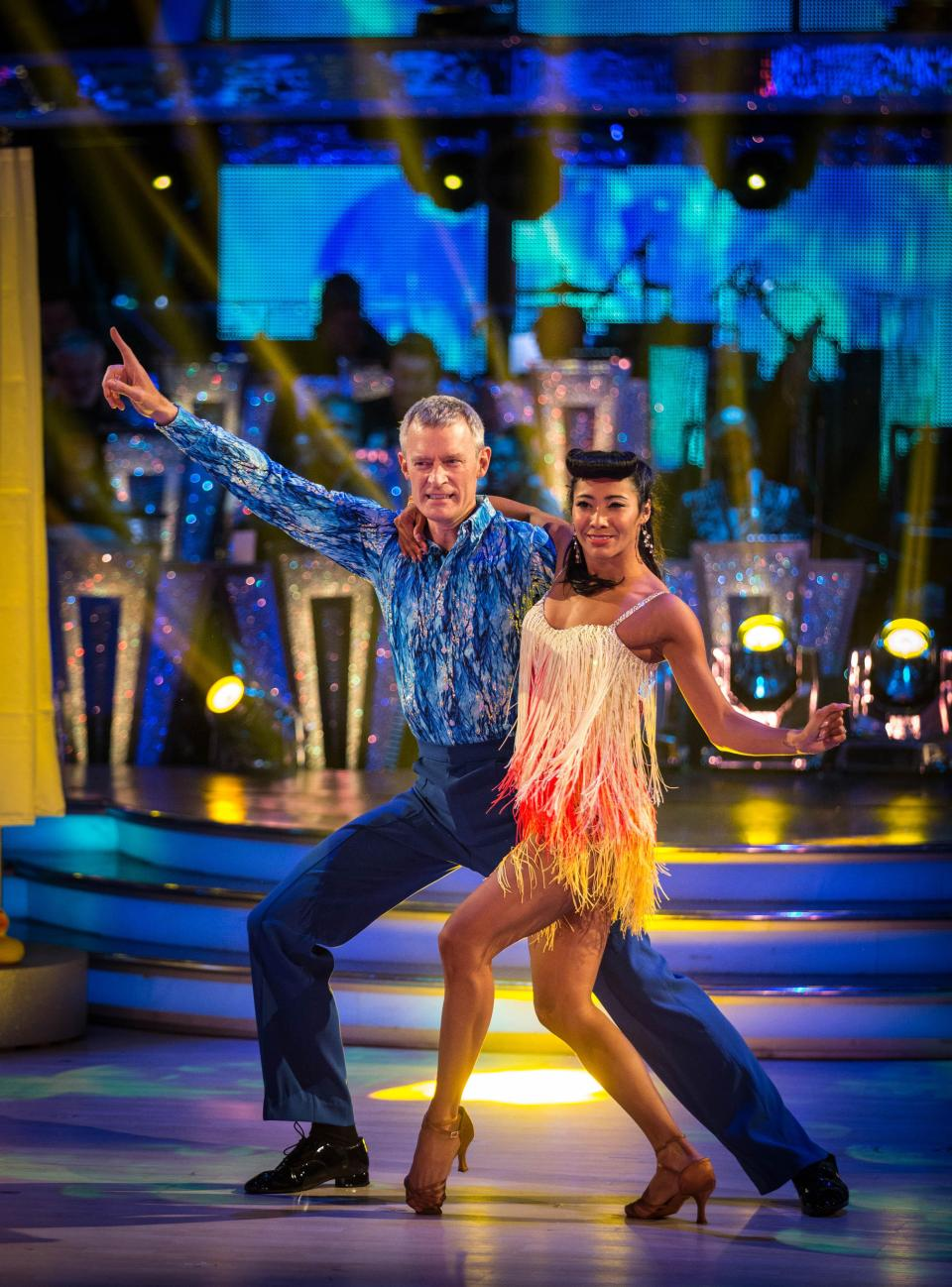 Jeremy Vine won over the nation with his groovy moves