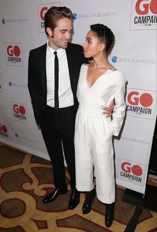 Rob raised eyebrows in July when he said he was 'kind of' engaged to her