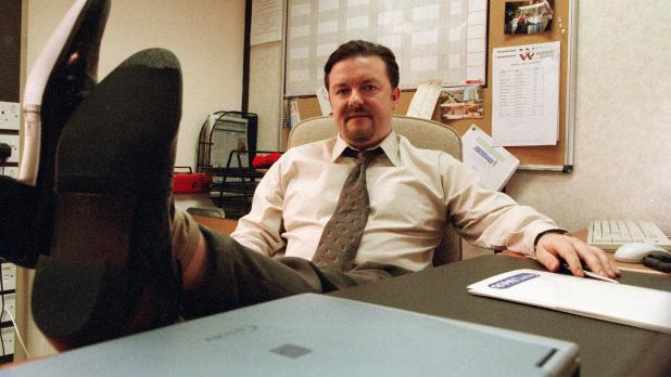 David Brent: part of Slough's image problem