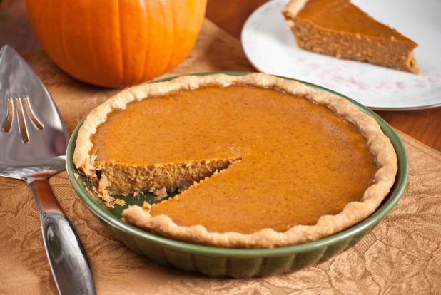 Pumpkin pie is an autumnal favourite
