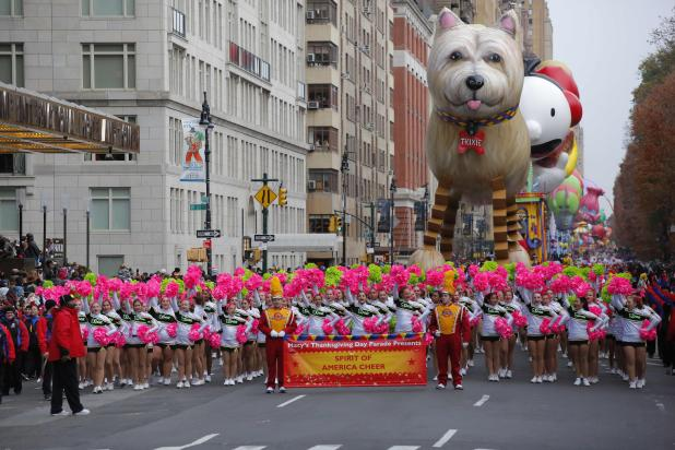Parades make their way around the streets of NYC every year