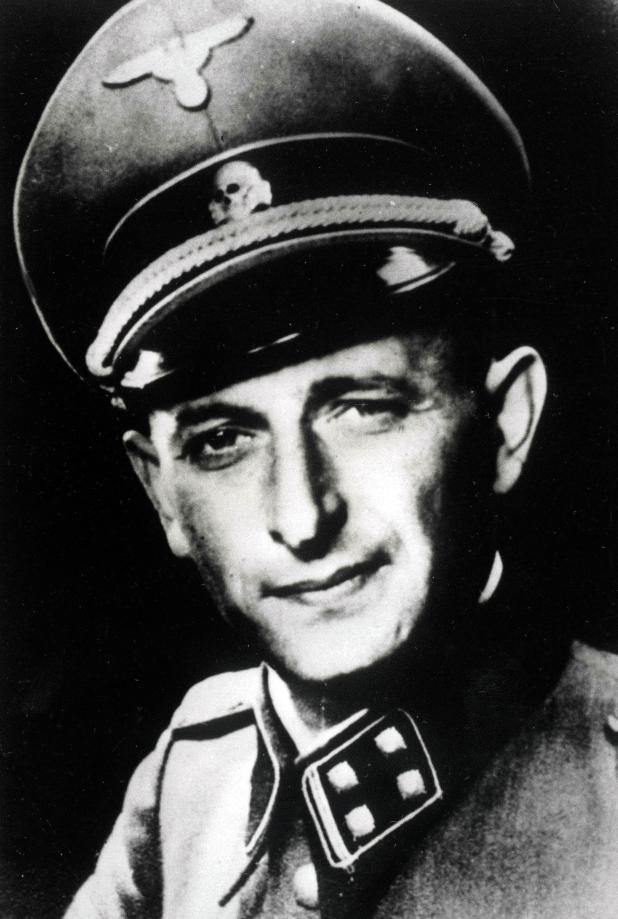 Holocaust planner Adolf Eichmann escaped to South America after the war, but was brought to justice by Israel and hanged in 1961