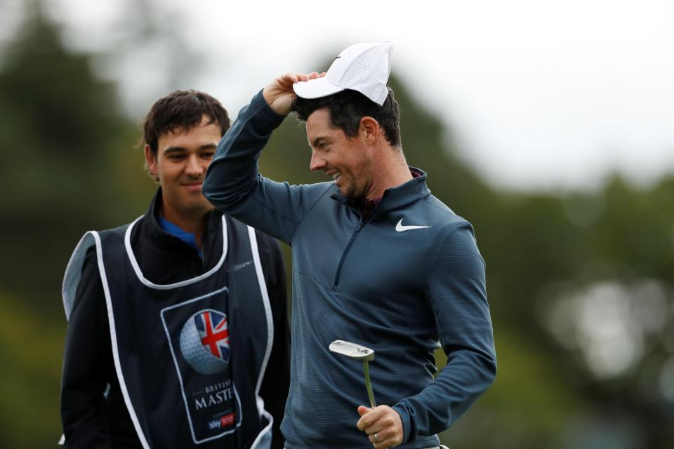 Rory McIlroy leads a strong line up in Scotland
