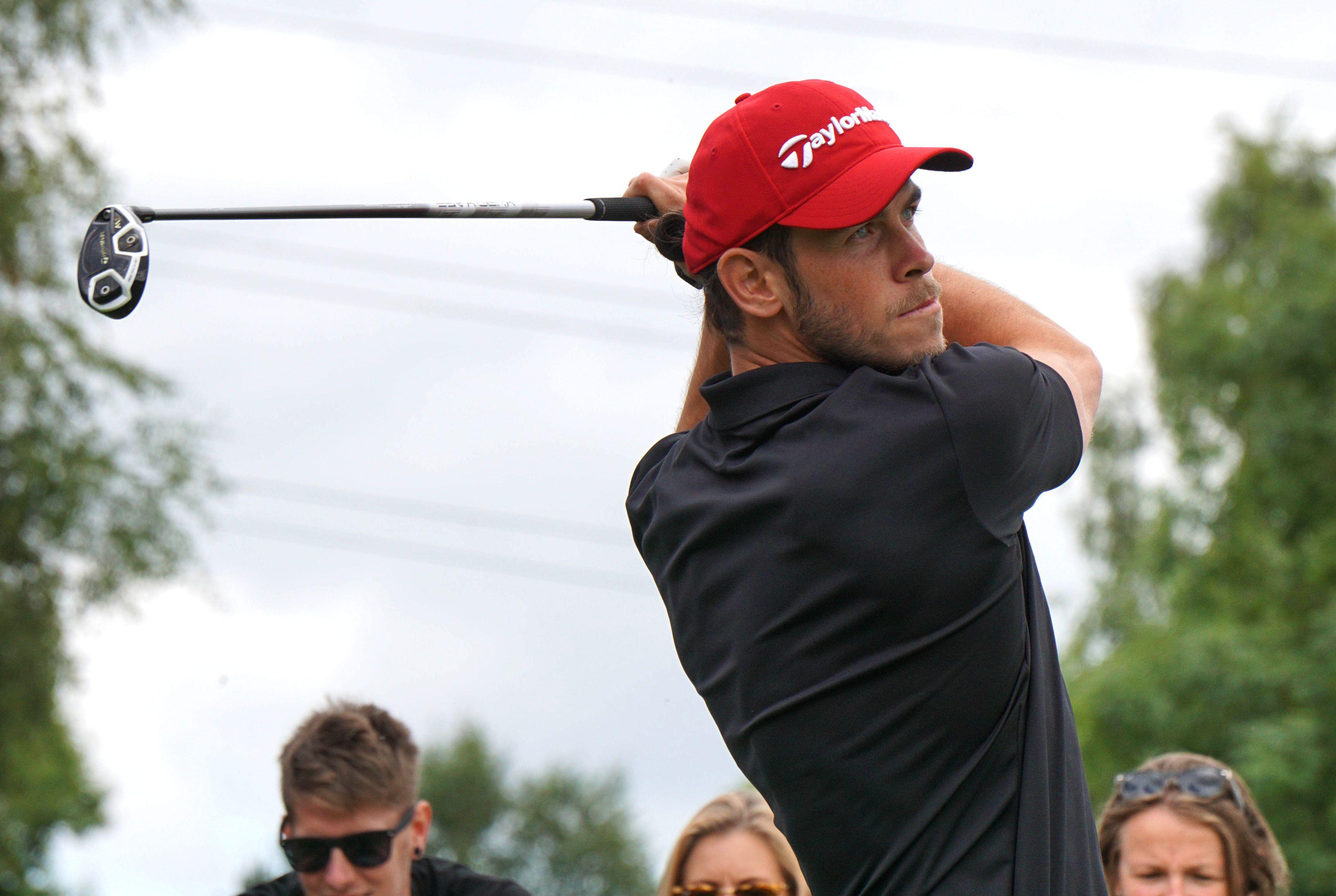 Gareth Bale is a huge fan of golf, but has taken this to another level
