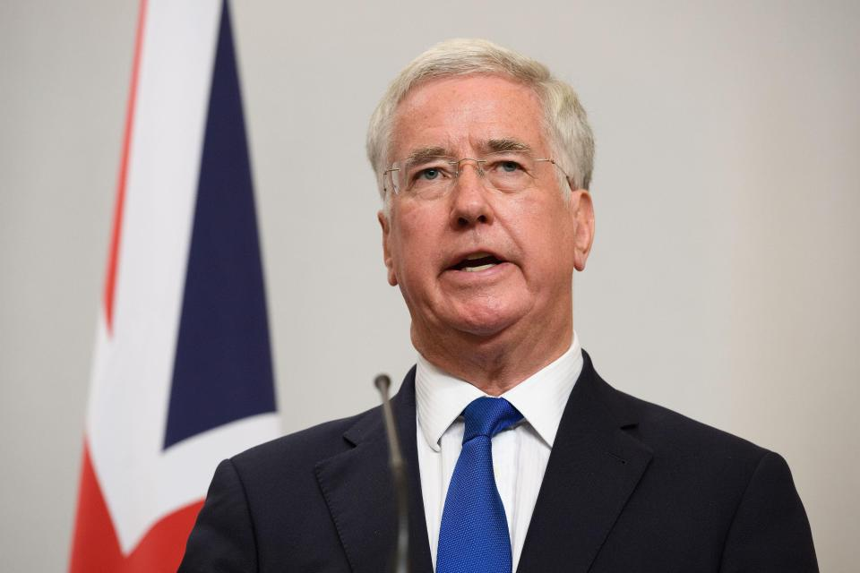 Michael Fallon was first elected in 1982
