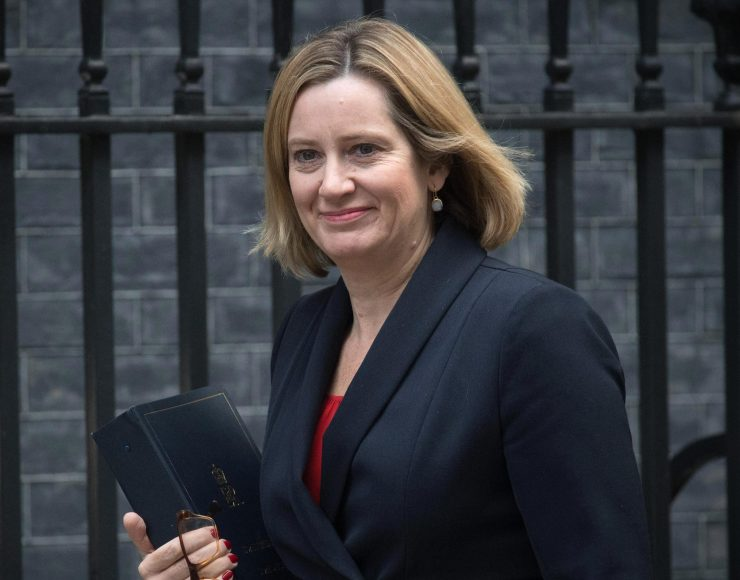 Amber Rudd is reportedly set to back Boris Johnson for the Tory leadership