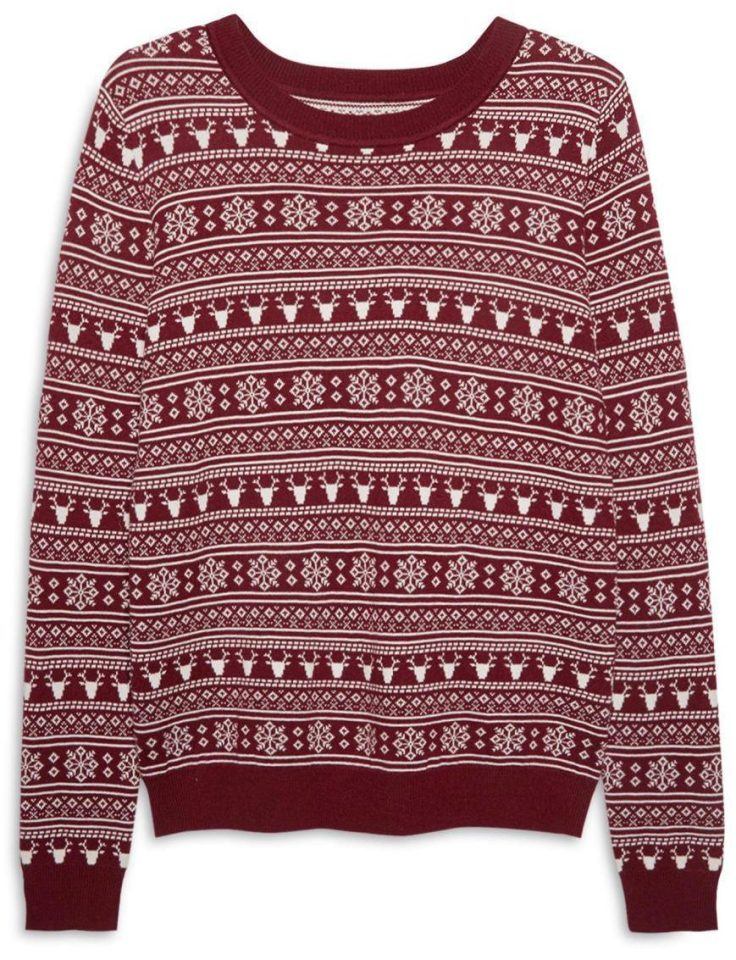 For men, Primark has released this candy cane and Christmas tree print design