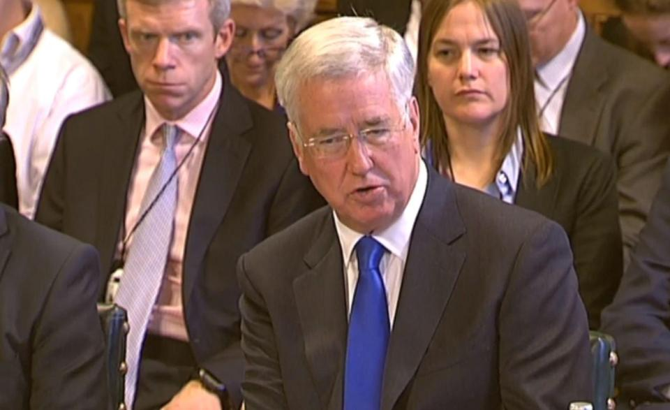 Fallon is currently Secretary of State for Defence
