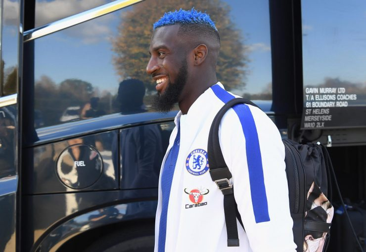 Tiemoue Bakayoko is happy to grin and bear it after changing his hair colour as promised