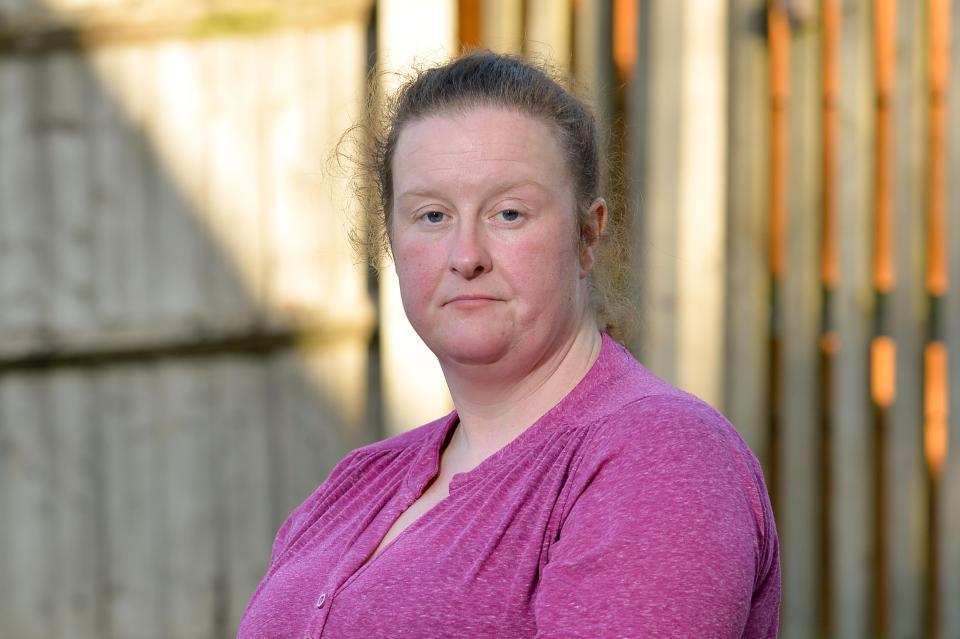 Financial fears... Lynda contemplated suicide