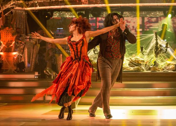Simon had failed to impress the judges with his routine with partner Karen Clifton