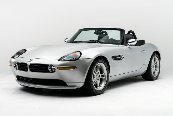 The legendary Z8 convertible was owned by Steve Jobs for three years
