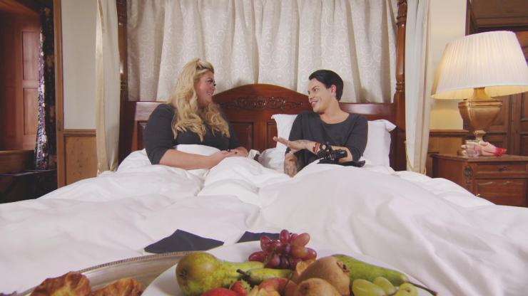 Gemma chats to Bobby about the night before