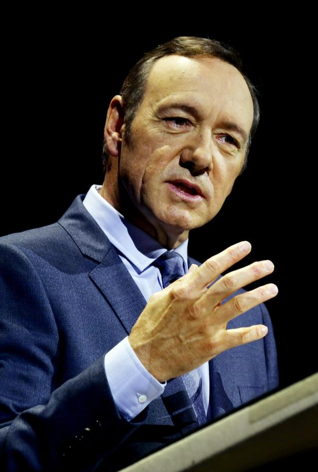 Kevin Spacey was one of Hollywood's most celebrated actors
