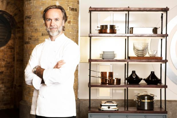 Marcus is a double Michelin-starred chef with a widening TV appeal