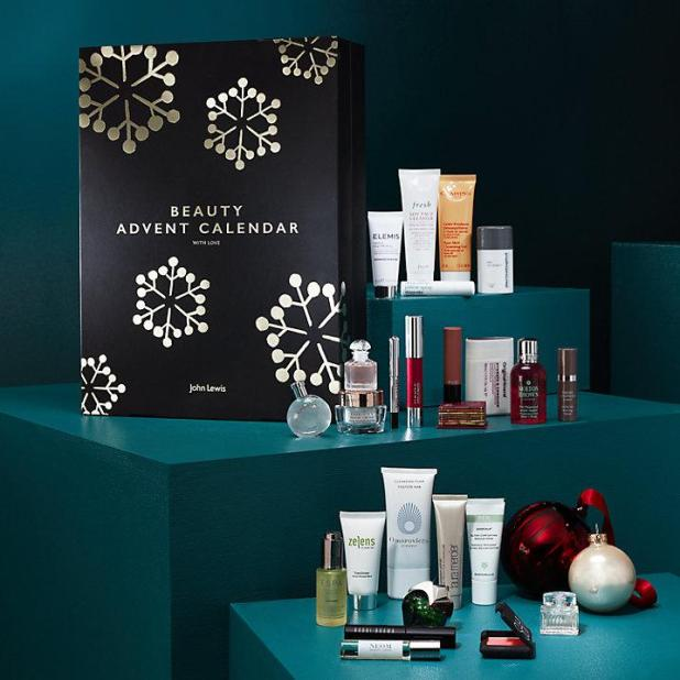 John Lewis' beauty advent calendar offers a new, if very expensive way, to count down to the big day