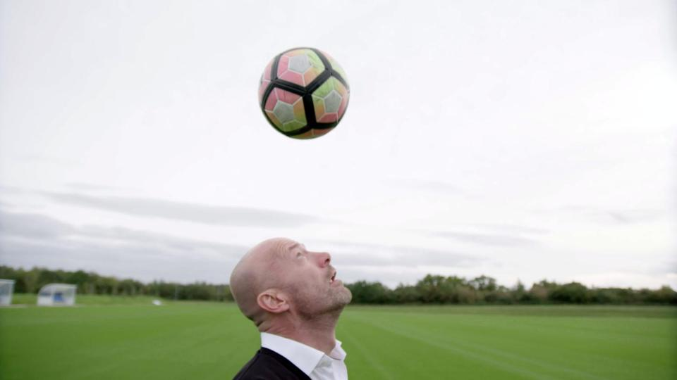 Alan hopes this programme will spark more research into the connection between heading a football and dementia