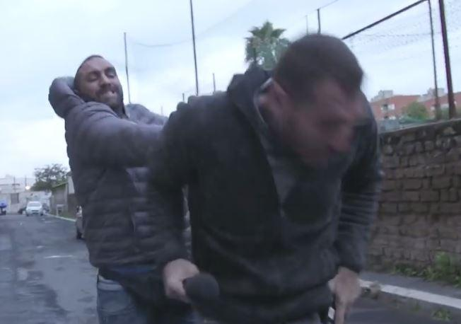 Roma' The most Feared Gypsy Gangster puts a TV reporter in the