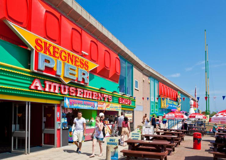 Skegness offers classic attractions like sandy beaches and ice cream on the promenade