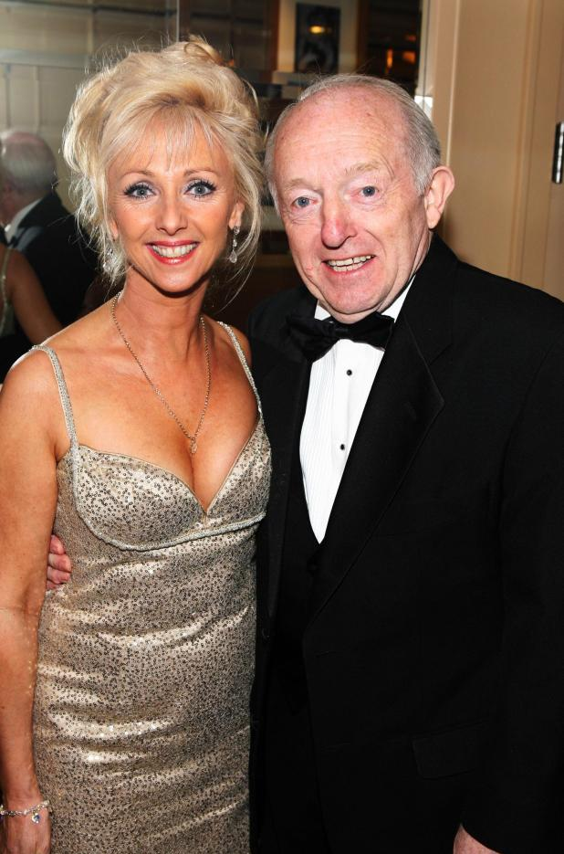 Debbie and her late husband magician Paul Daniels