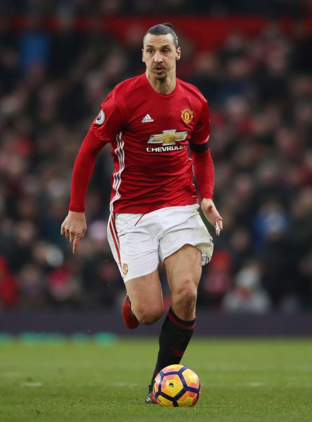 Zlatan Ibrahimovic hasn't featured for Manchester United since April