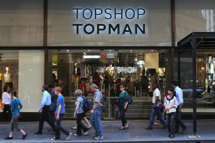 Topshop and Topman has decided to make their changing rooms gender neutral