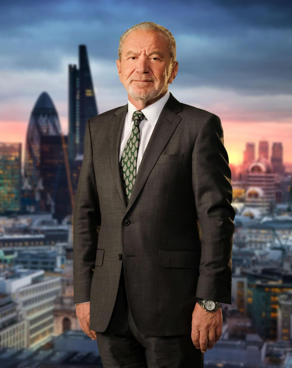 Lord Sugar took to Twitter to express surprise at Charles