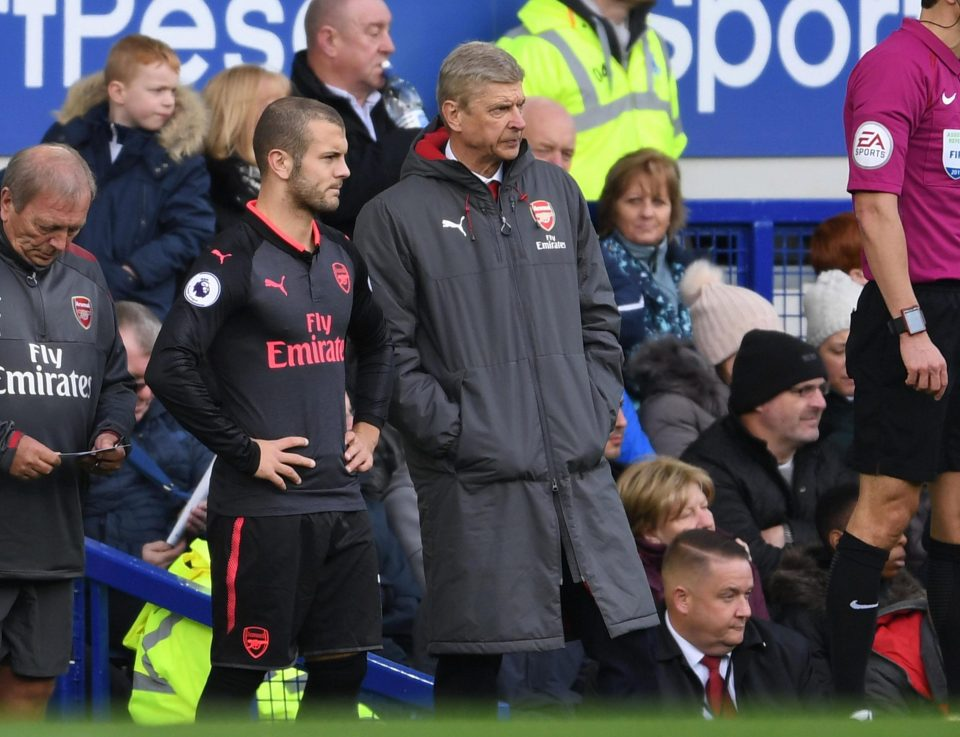 Arsene Wenger wants to deal with Jack Wilshere contract situation in December