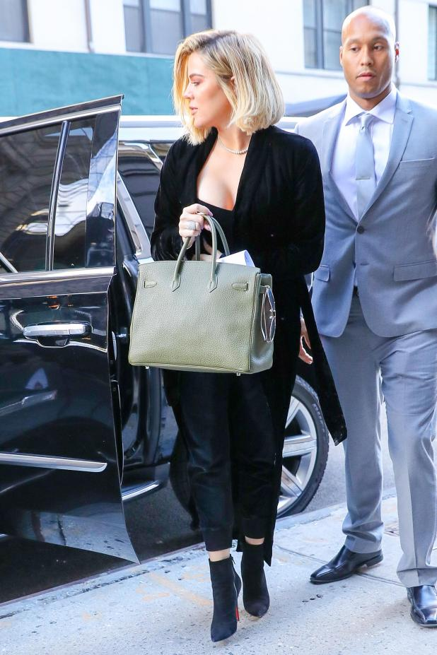 Khloe has been sporting a slightly fuller figure of late – much different to the pic she posted on Instagram