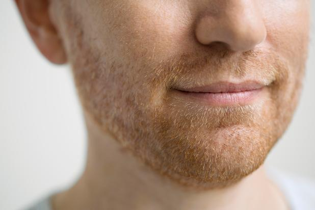Many men have flecks of red in their beard, even if they aren't crimson-locked, and there is a scientific reason for that