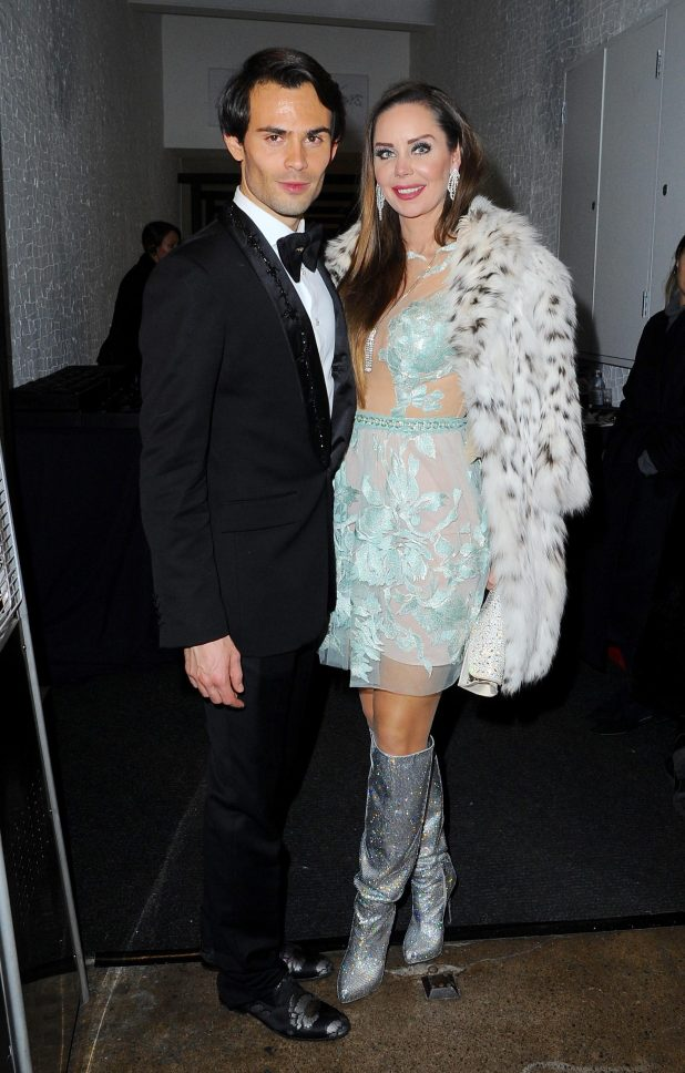 Made In Chelsea's Mark Francis arrived with a glam female pal