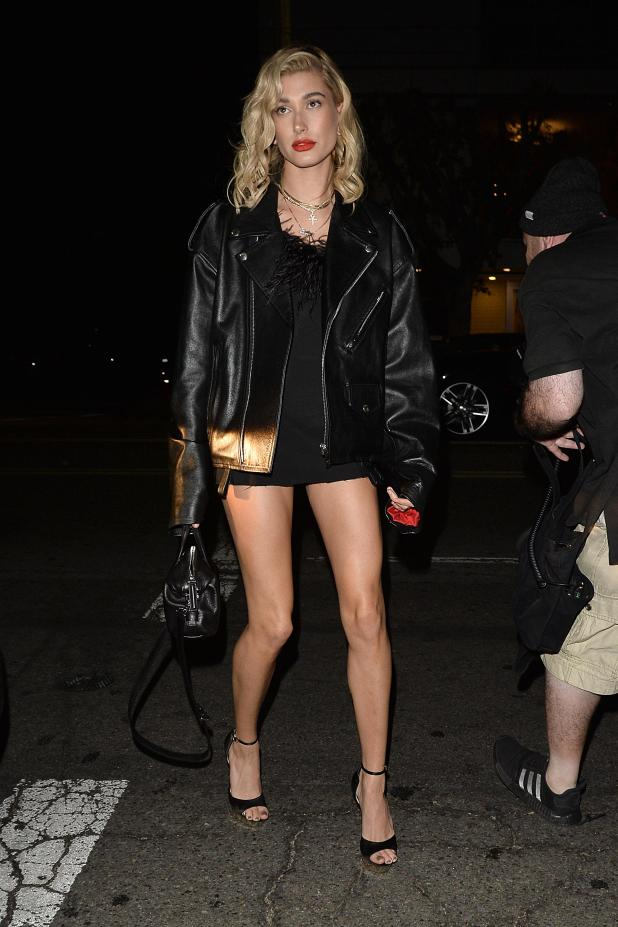 Hailey Baldwin was on best friend duties at the bash