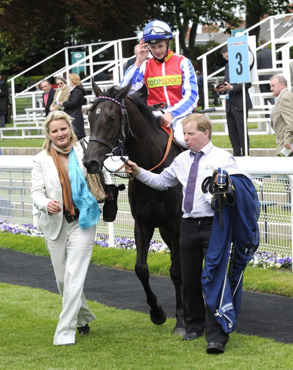 In total, Gay rode some 60 winners