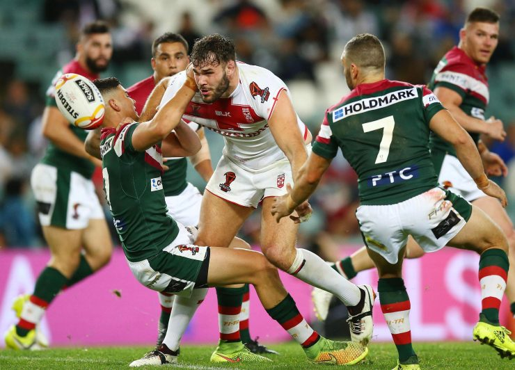 Alex Walmsley helped England to a 29-10 victory over Lebanon at the Allianz Stadium in their last game