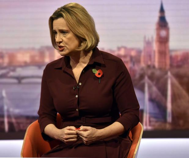 Amber Rudd says the wave of abuse claims will 'clear out' sleazy behaviour from Westminster